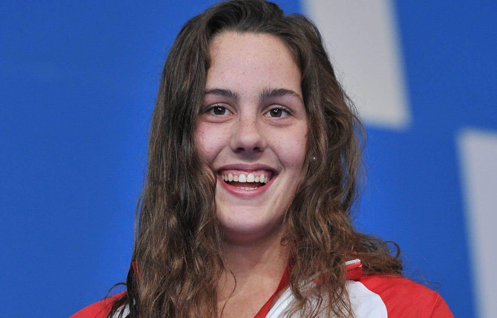 La nageuse canadienne Aurélie Rivard