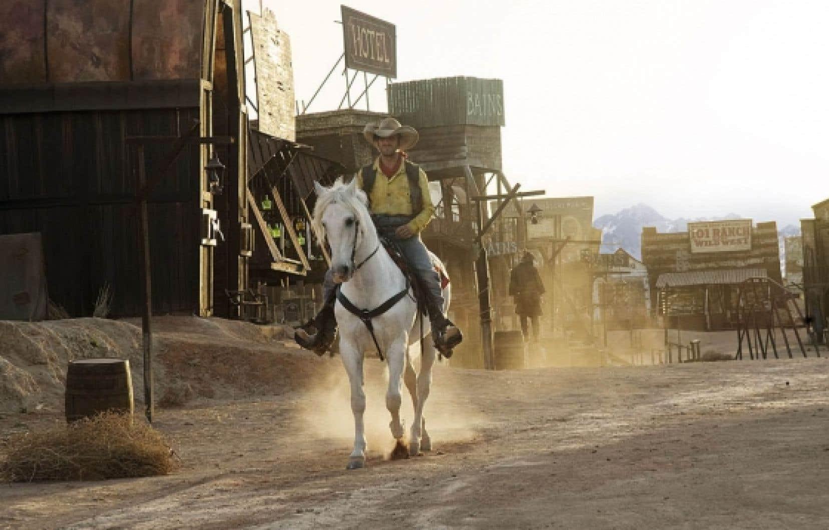 Jean Dujardin dans le rôle-titre de Lucky Luke