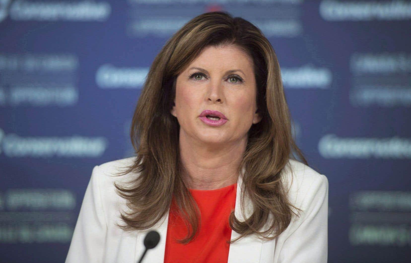 La chef intérimaire du Parti conservateur, Rona Ambrose
