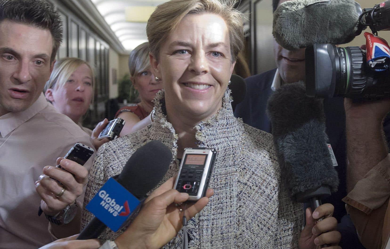 La députée ontarienne Kellie Leitch était relativement peu connue dans la course à la chefferie du Parti conservateur du Canda. Or, il n'est question que d'elle depuis presque trois semaines.