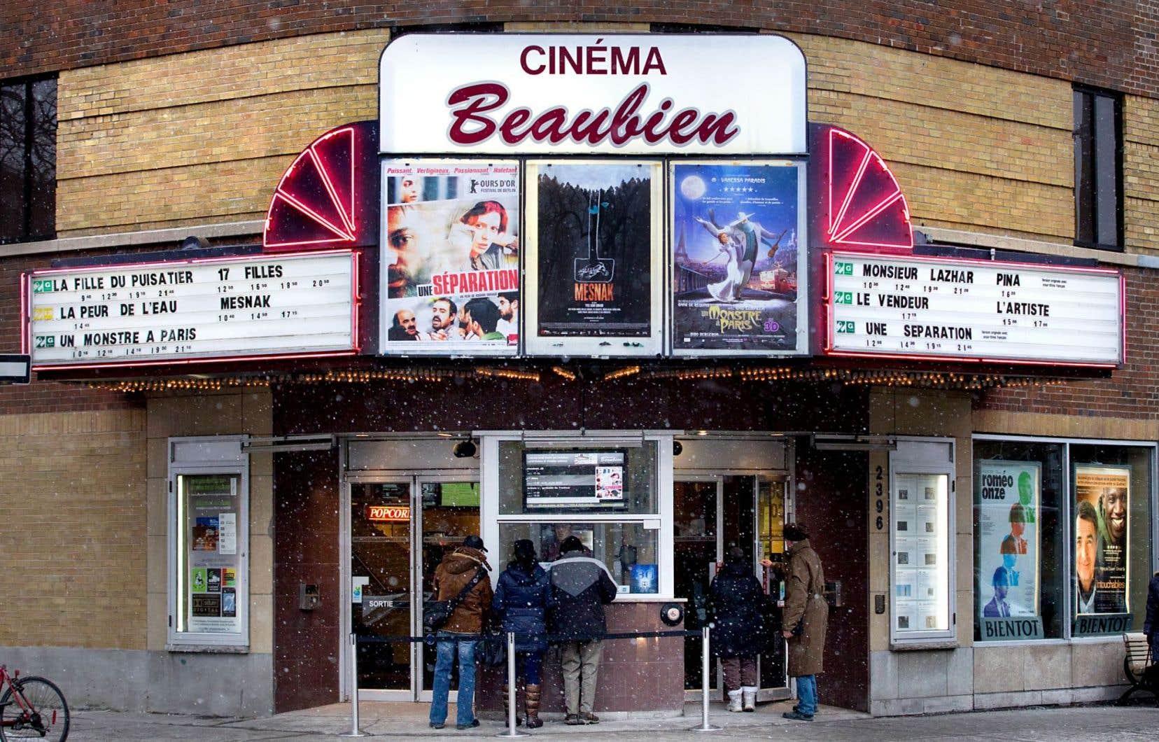 La marquise du cinéma beaubien, en 2012