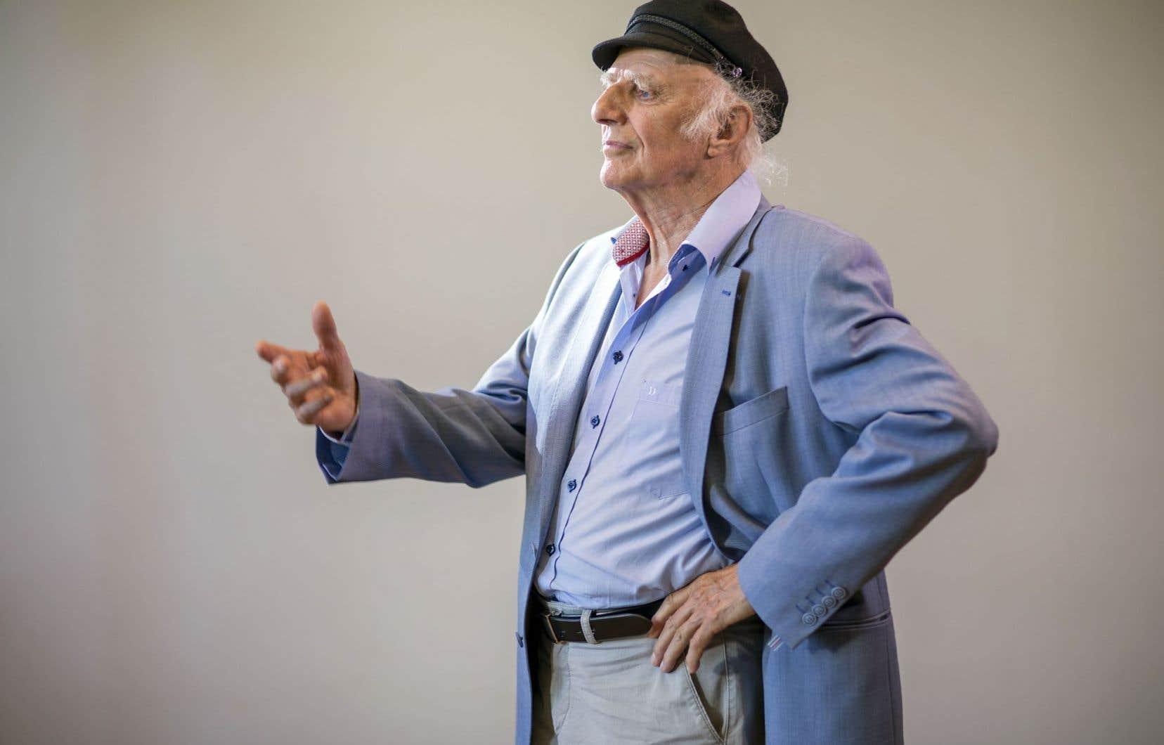 «J'ai davantage espoir en la nature qu'en l'être humain, qui ne la respecte pas et la massacre», affirme Gilles Vigneault.