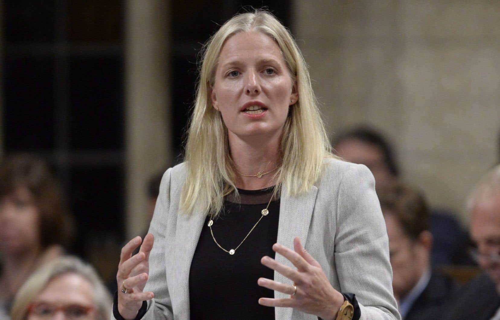 La ministre de l'Environnement Catherine McKenna a donné son feu vert au projet mardi soir.