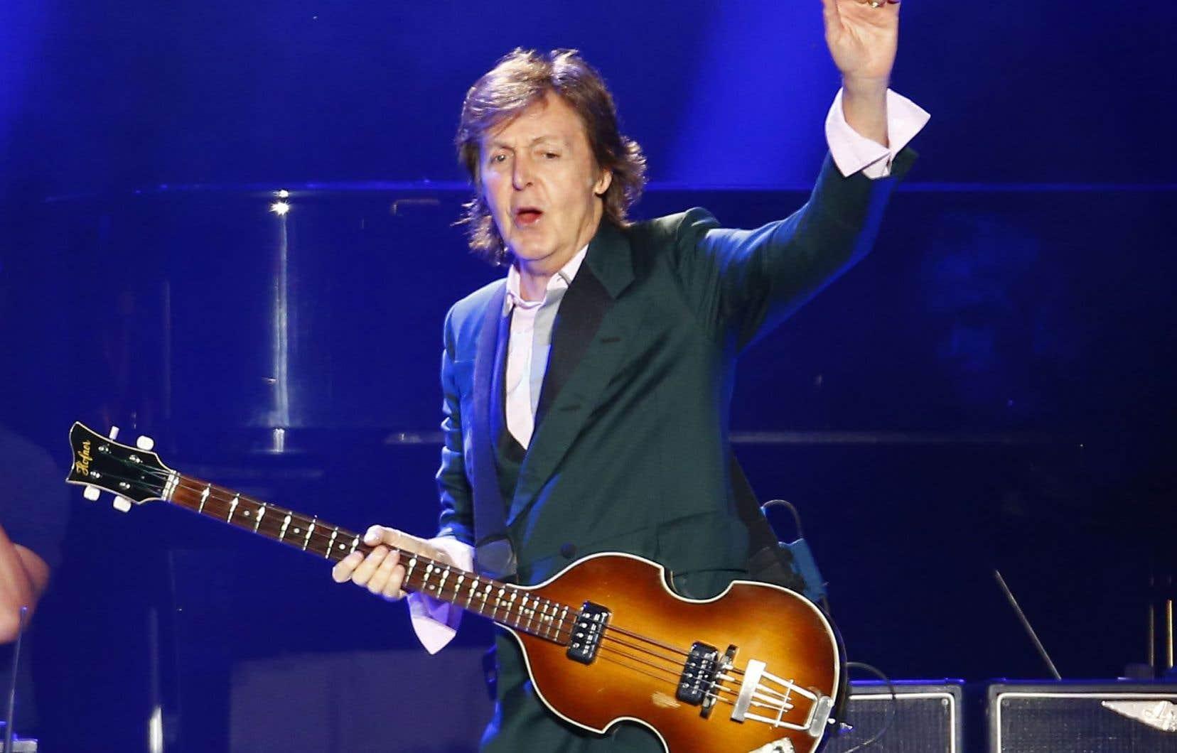 Paul McCartney avait visité le Québec pour y donner un concert à l'été 2013.