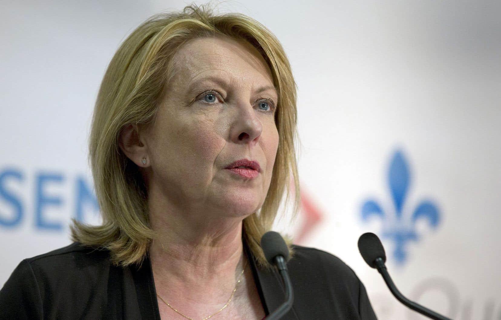«Je trouvais ça inconcevable […] qu'on n'ait pas de bureau officiel en Afrique», a confié la ministre Christine St-Pierre.