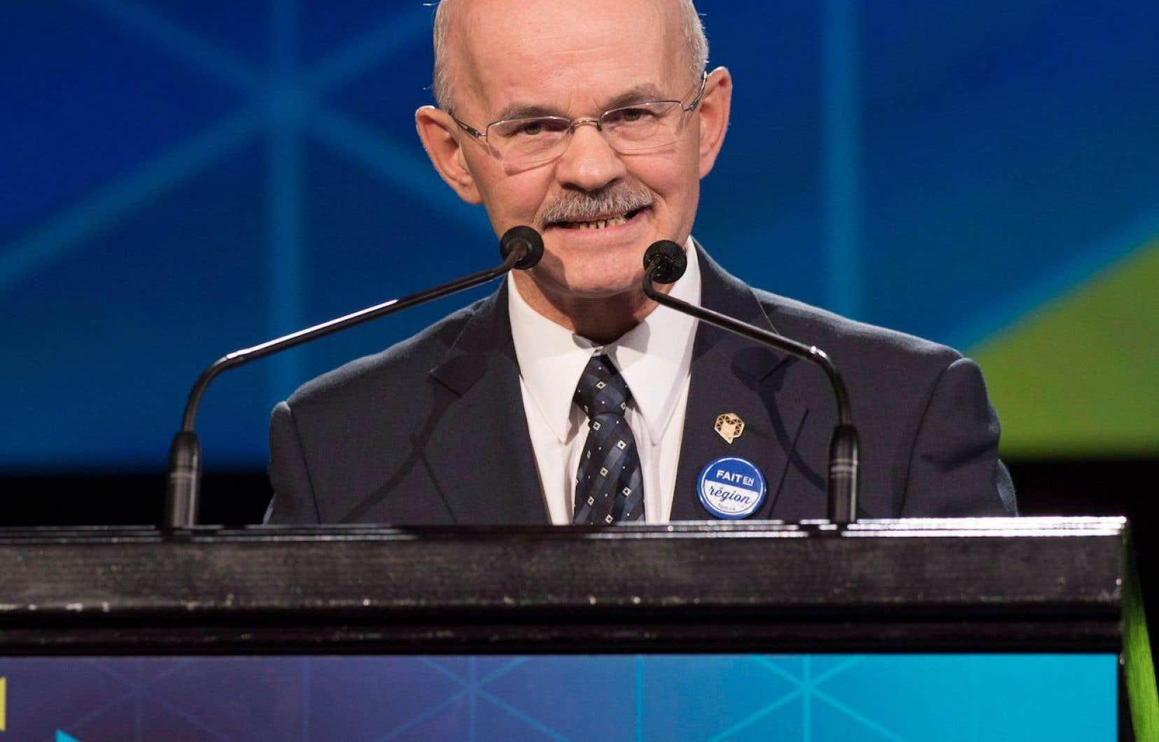 Le président de la FMQ, Richard Lehoux