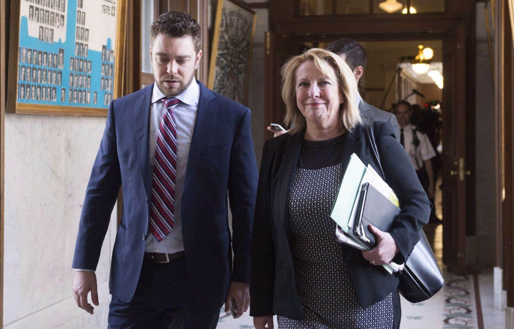 La ministre des Relations internationales, Christine St-Pierre