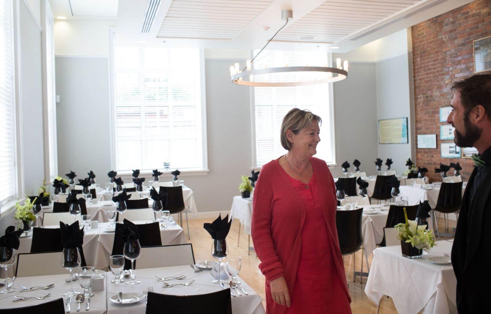 Le projet de conservatoire culinaire du Québec est une idée de la libraire Anne Fortin.