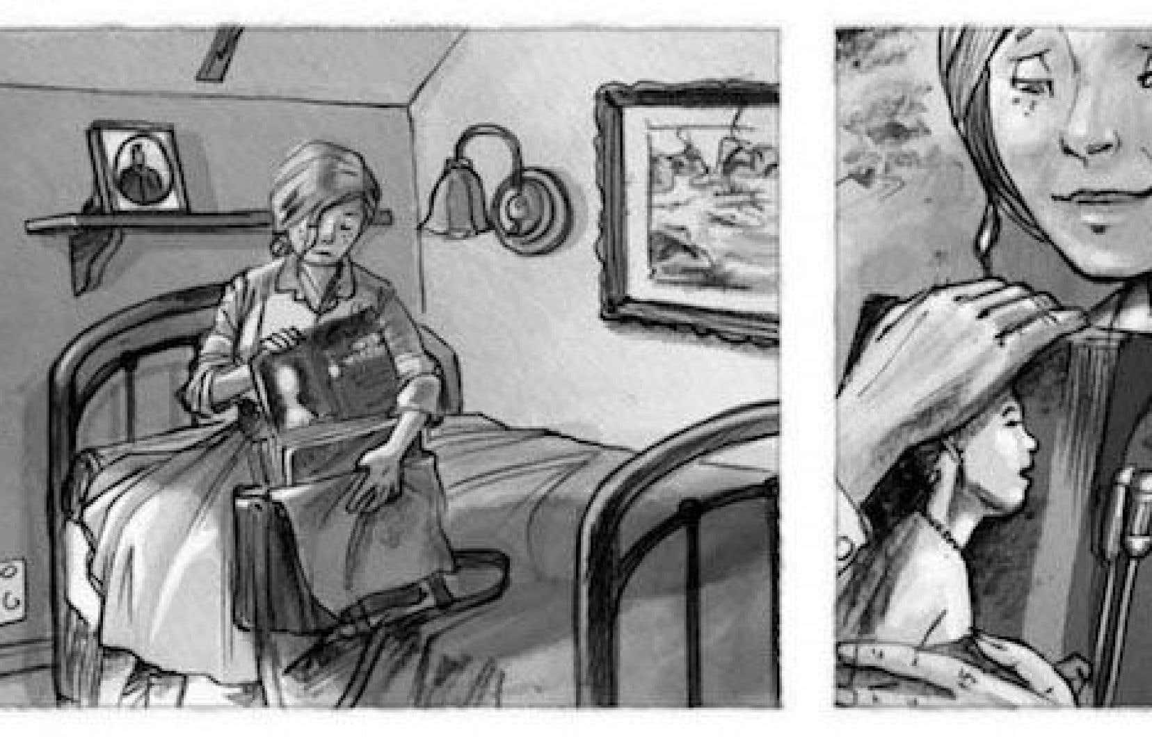 «La Femme aux cartes postales», d'Eid et Claude Paiement