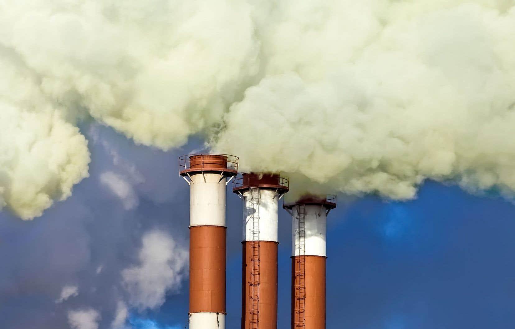 L'entente n'établit pas de cibles de réduction des gaz à effet de serre.