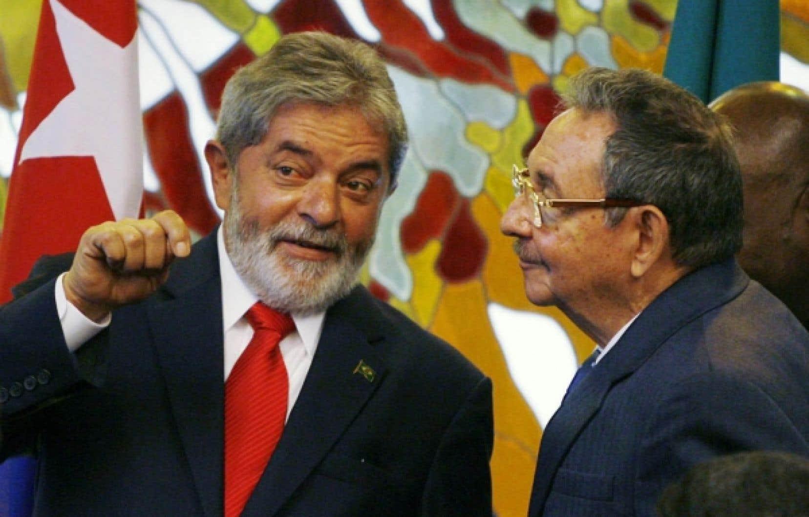 La cote de popularité de Luiz Inácio Lula da Silva dépasse 80 %.