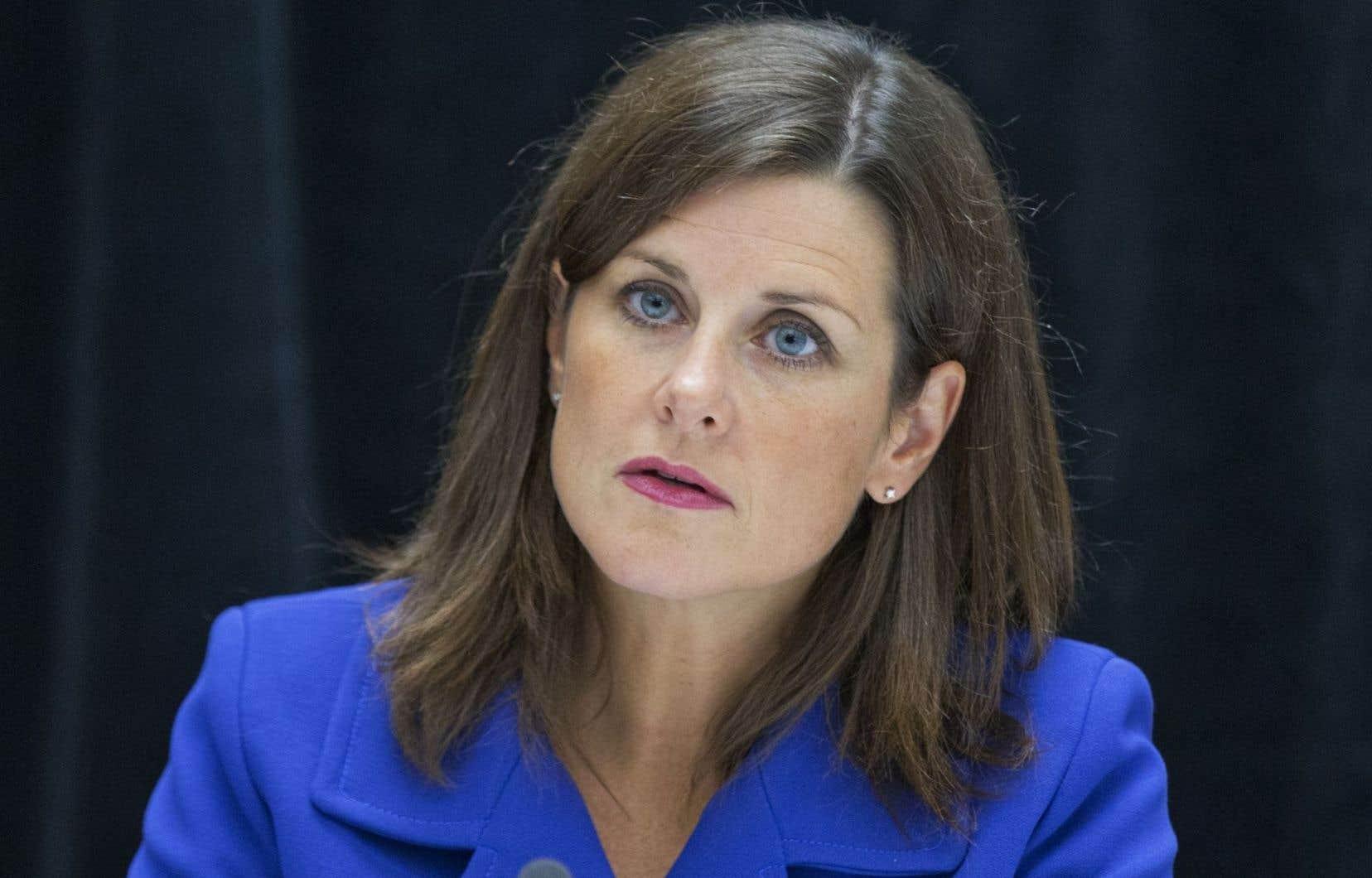 La ministre de la Justice, Stéphanie Vallée, a affirmé jeudi qu'il s'agissait d'un <em>«pas historique».</em>