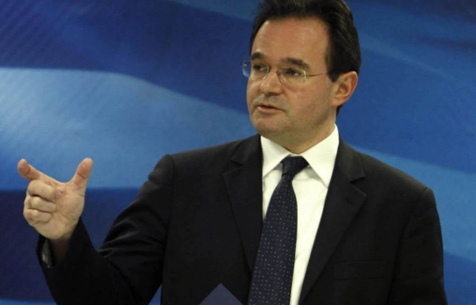 Le ministre grec des Finances, George Papaconstantinou, et son gouvernement s'évertuent à démontrer leur détermination à redresser la situation financière de leur pays.
