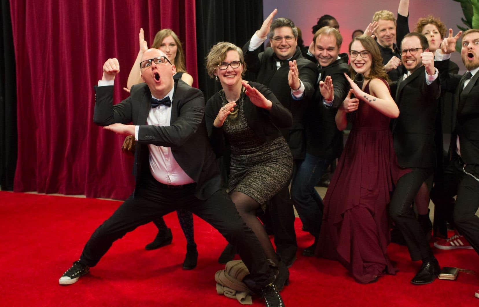 Quelques artistes présents lors du dernier Gala du cinéma québécois, en 2016