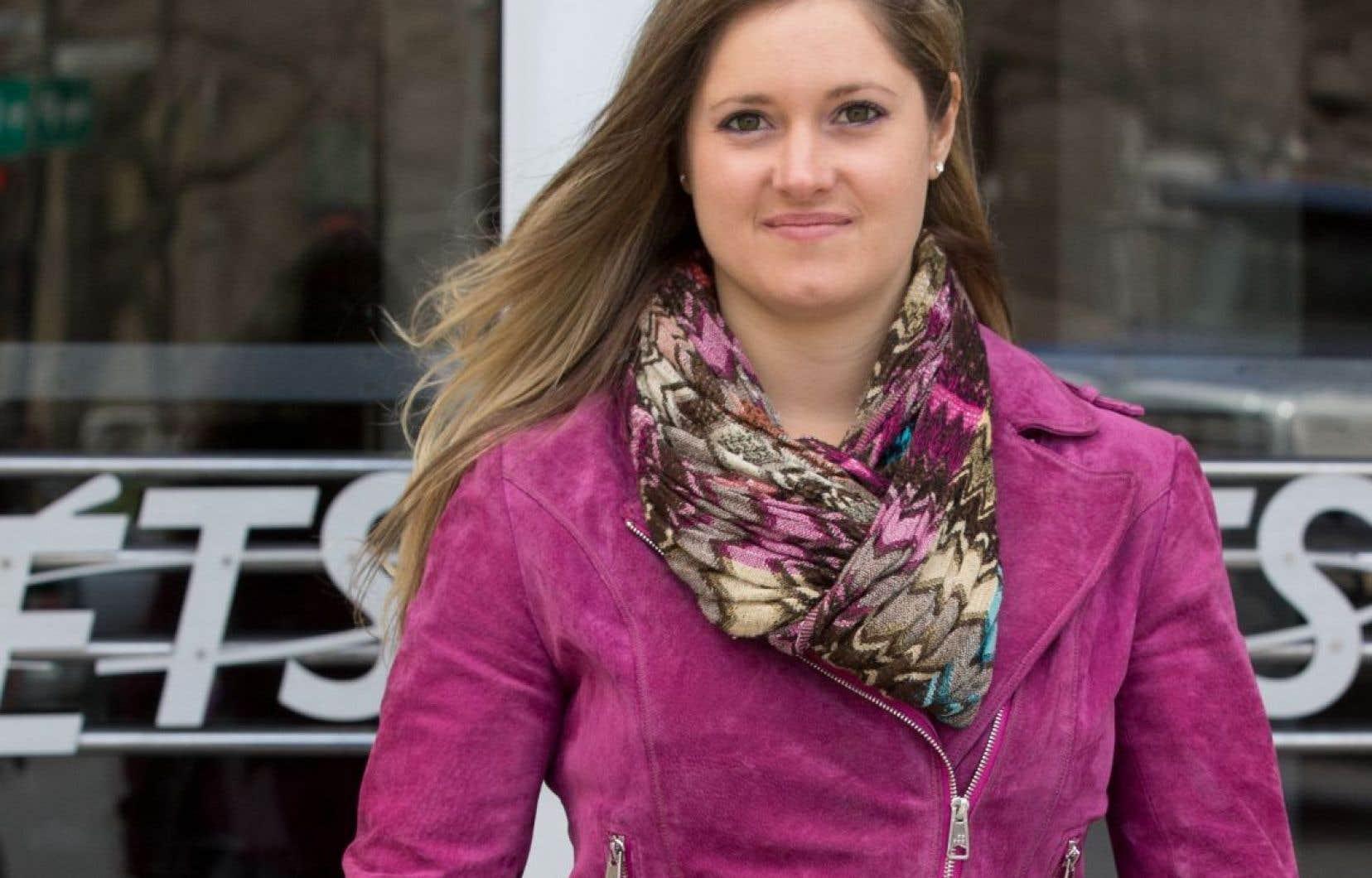 Pour Kimberley Marin, étudiante à l'École de technologie supérieure (ETS) de Montréal, la croisade contre le harcèlement sexuel a commencé aux initiations de l'automne 2015.