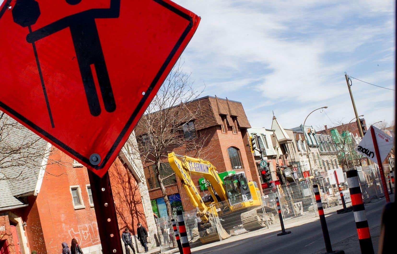 La réfection de la rue Saint-Denis a été exécutée avant qu'une vaste consultation publique sur l'avenir de l'artère soit menée.