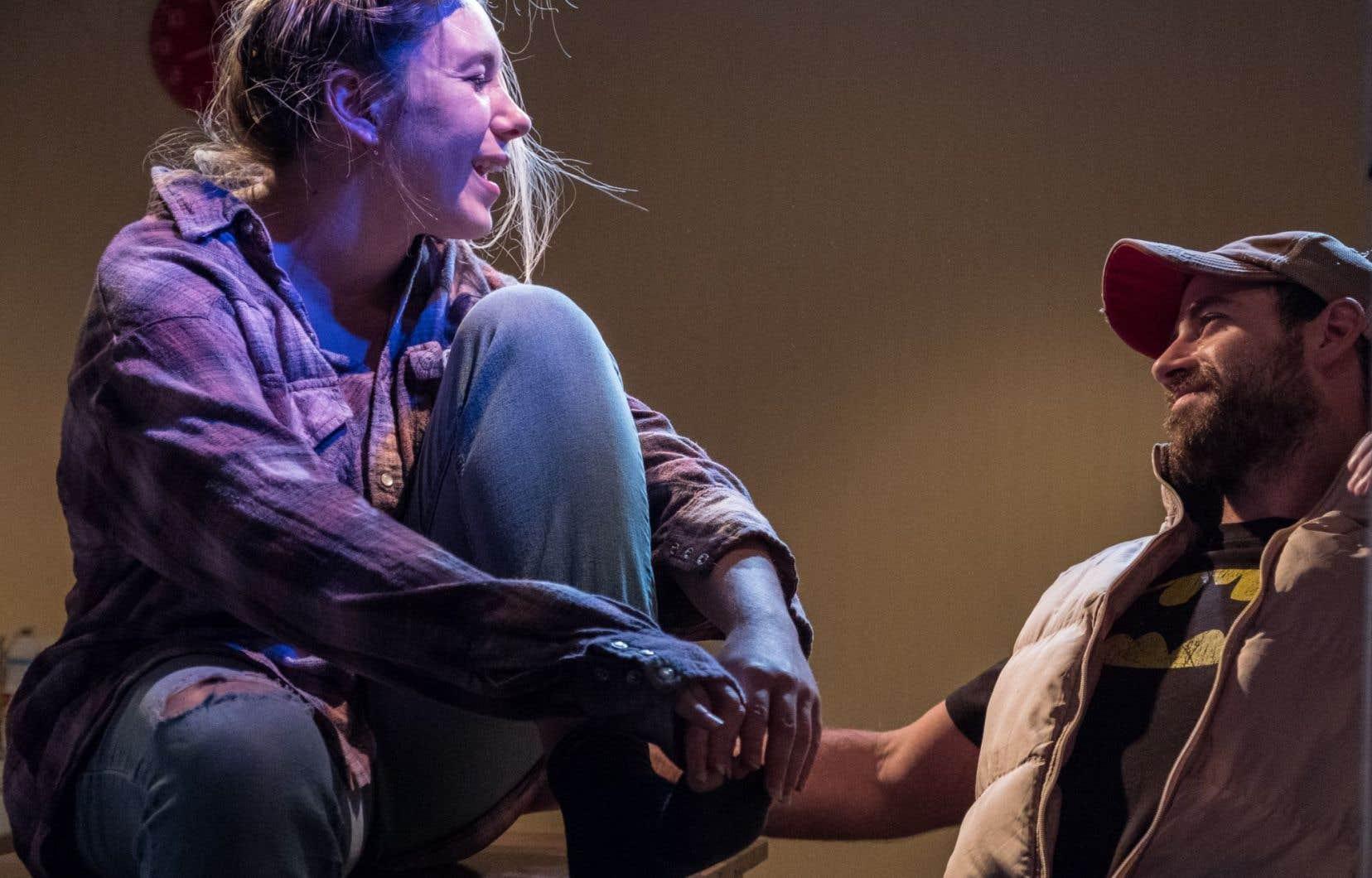 «Le sang de Michi» est présenté à la salle intime du Théâtre Prospero jusqu'au 29 octobre.