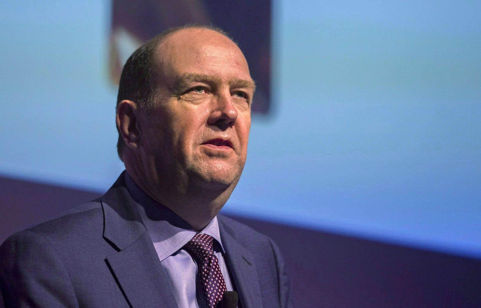 Guy Laurence a été nommé à la tête de Rogers à la fin 2013 en grande pompe.