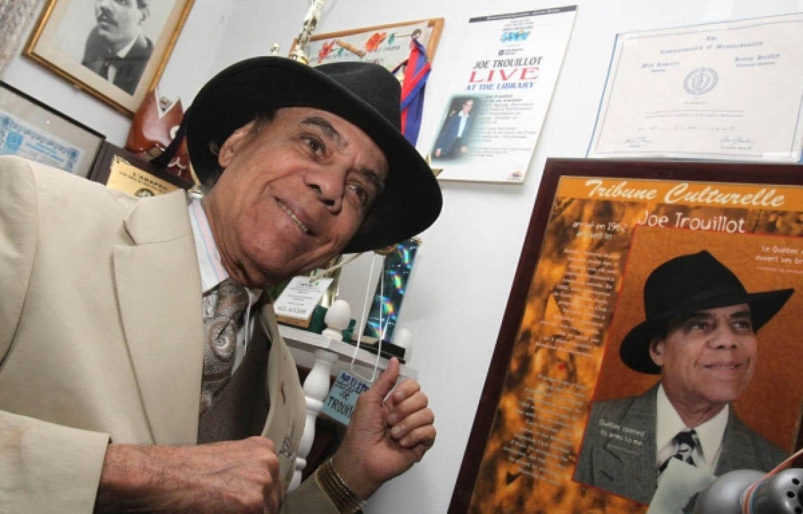 Encore actif à 87 ans, Joe Trouillot est le vénérable patriarche de la chanson haïtienne et peut-être même de la chanson tout court.