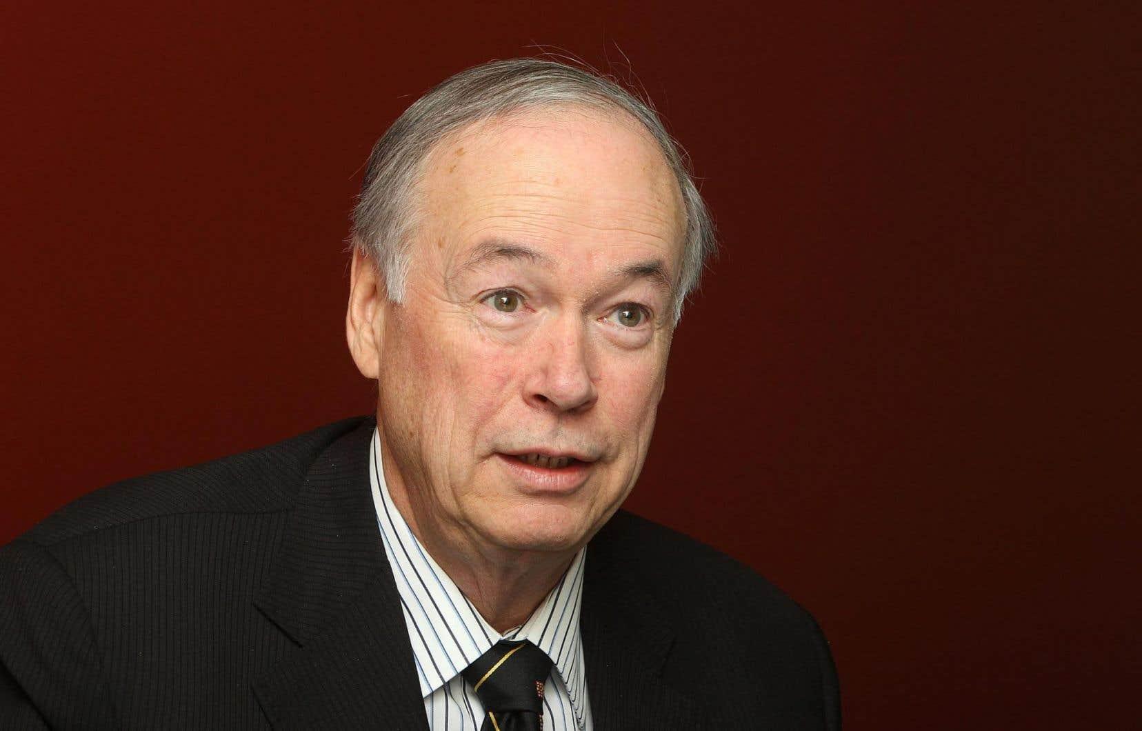 Le recteur Denis Brière