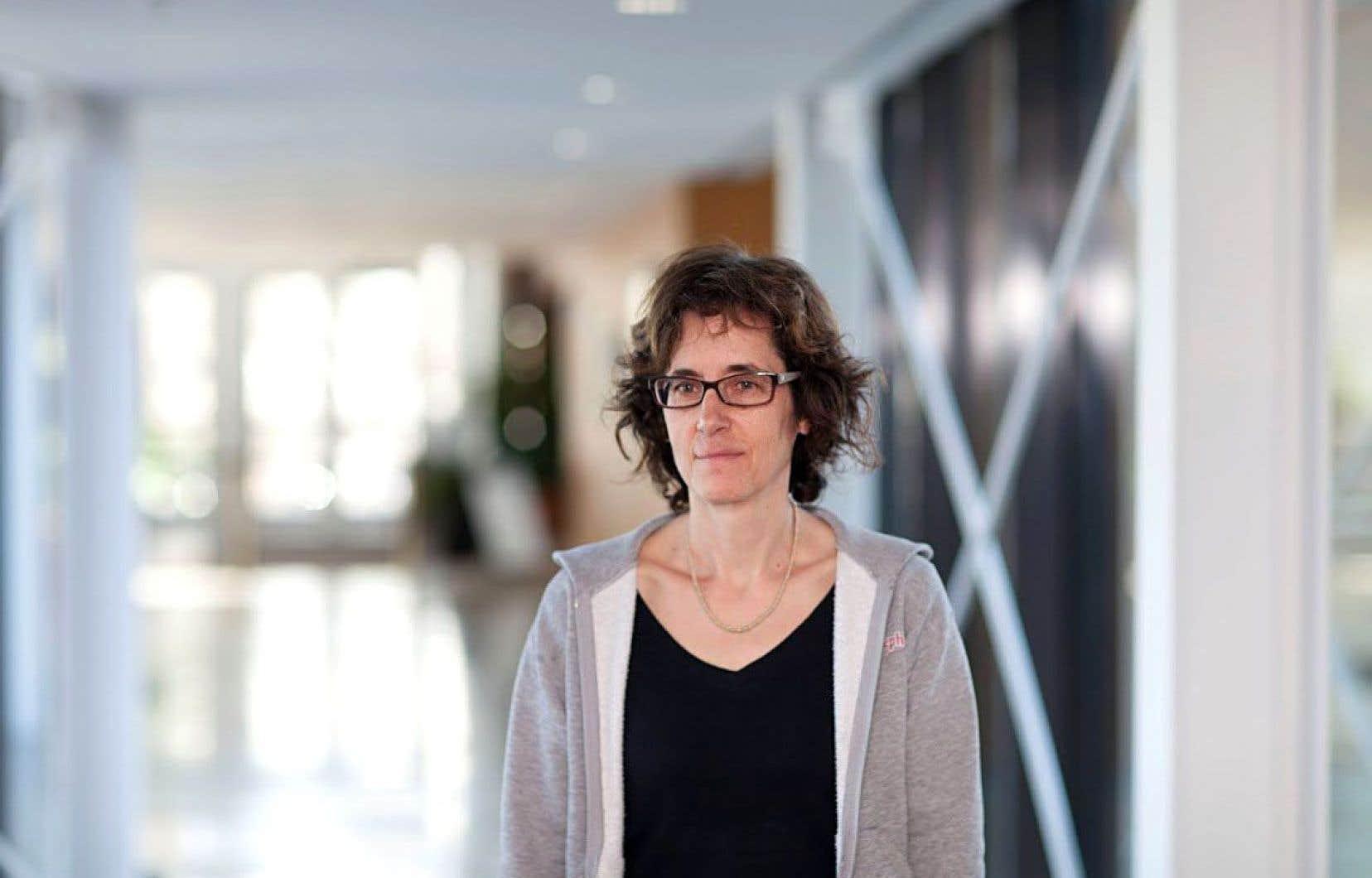 Anne Bruneau, professeure au Département de sciences biologiques de l'Université de Montréal