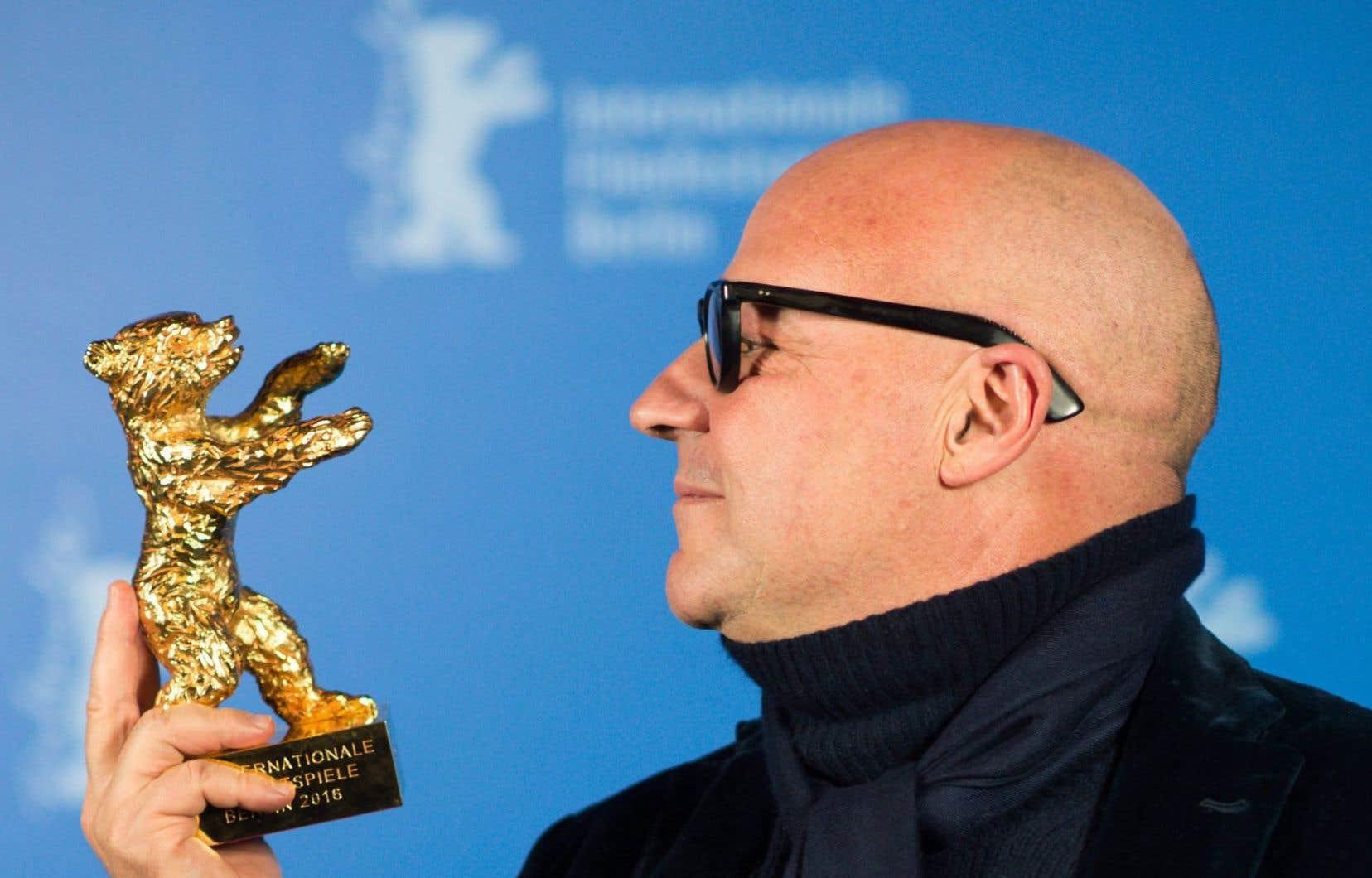 Gianfranco Rosi a reçu l'Ours d'or au festival de Berlin cette année pour son documentaire «Fuocoammare», qui sera présenté aux RIDM.