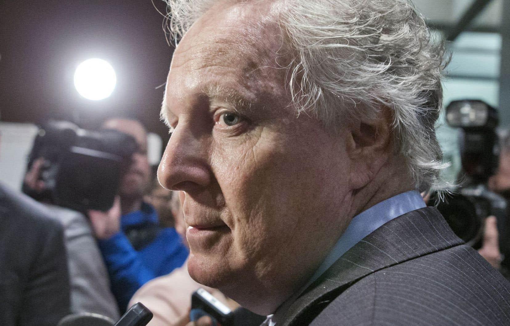 L'ancien premier ministre québécois, Jean Charest a longtemps repoussé les appels pressants lancés pour la mise en place d'une commission d'enquête sur l'industrie de la construction.