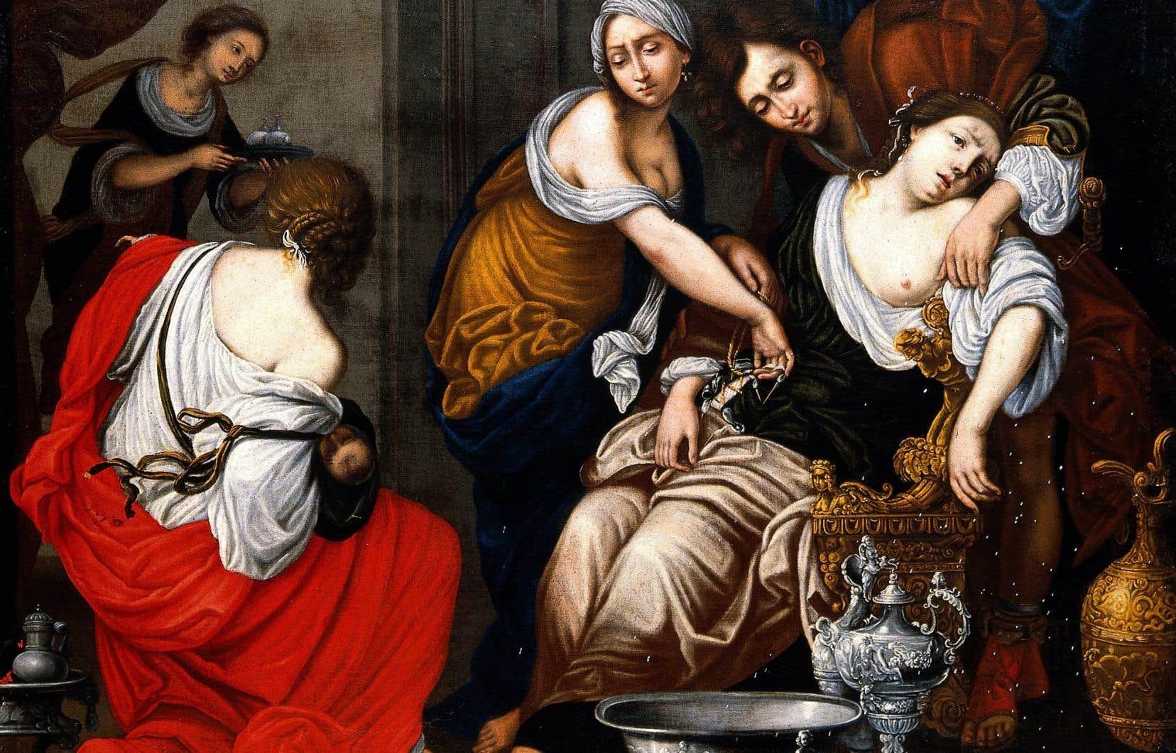 La perception du mal a bien évolué dans le temps, et c'est tant mieux. Alors que la douleur était autrefois perçue comme un mal nécessaire, la résilience à la douleur a été longtemps vue comme une preuve de courage, de maîtrise de soi, même par les médecins, rappelle l'historienne Joanna Bourke. Ci-dessus: l'œuvre <em>La naissance de Benjamin et la mort de Rachel</em> (XVIIesiècle) de Francesco Furini.