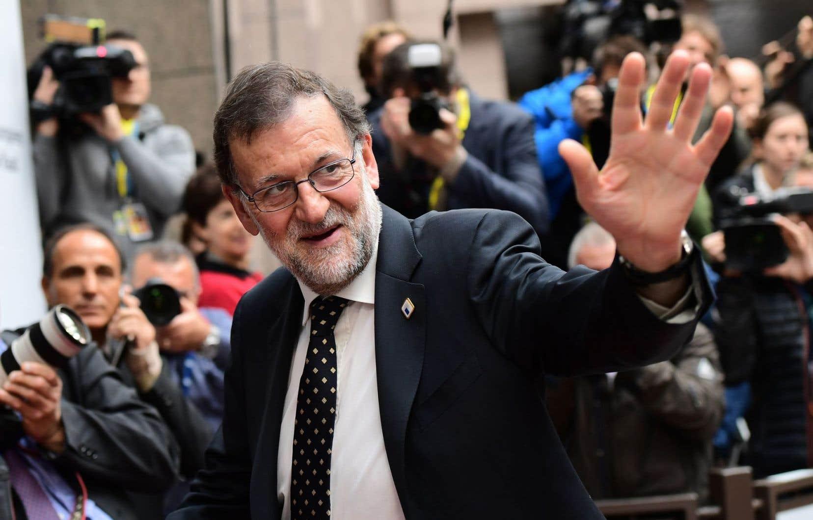 Le premier ministre d'Espagne Mariano Rajoy