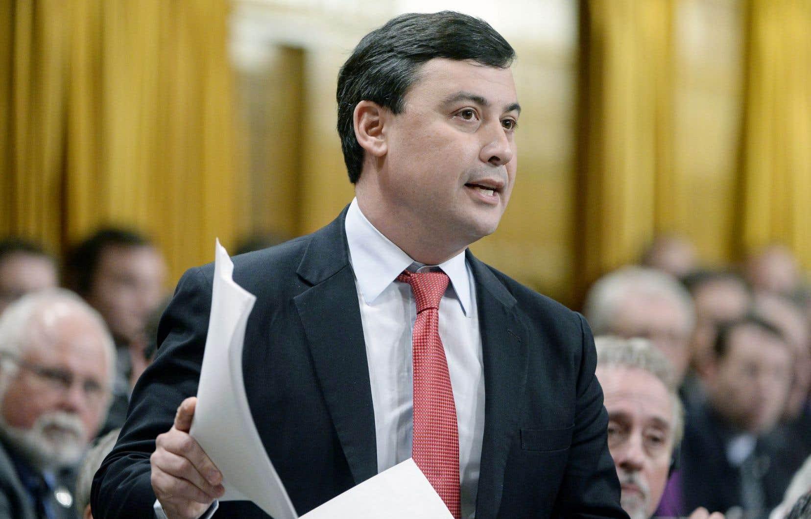 Michael Chong, à Ottawa, en février dernier