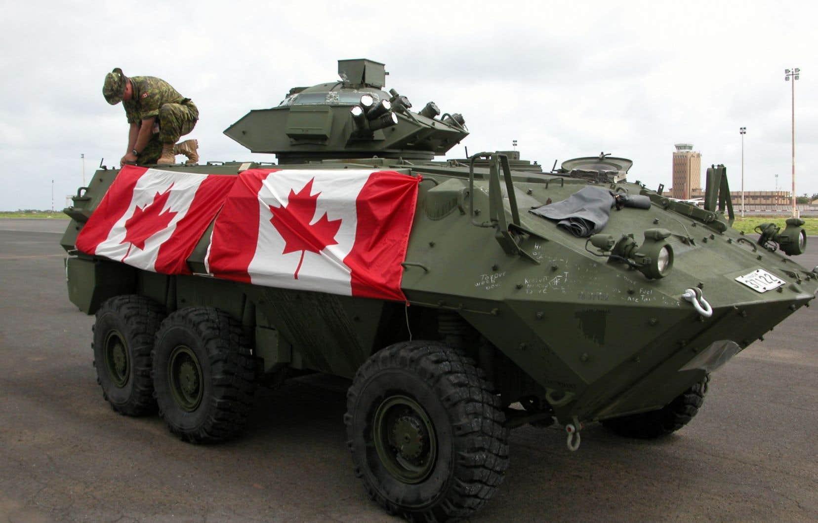 La future mission canadienne en Afrique s'inscrira de toute évidence dans la stratégie américaine dans cette partie du monde.