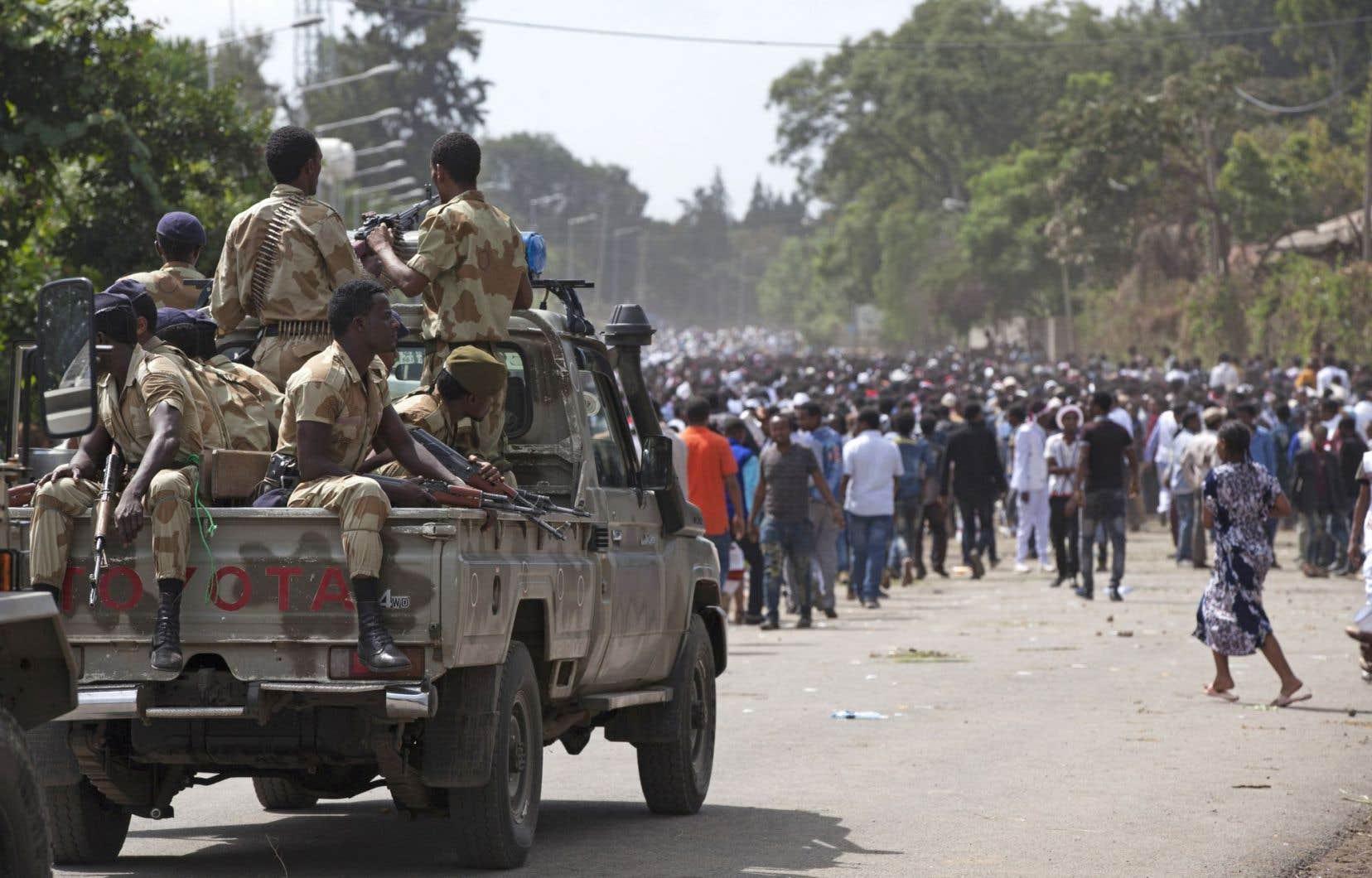 Addis-Abeba a décrété l'état d'urgence il y a près de trois semaines.