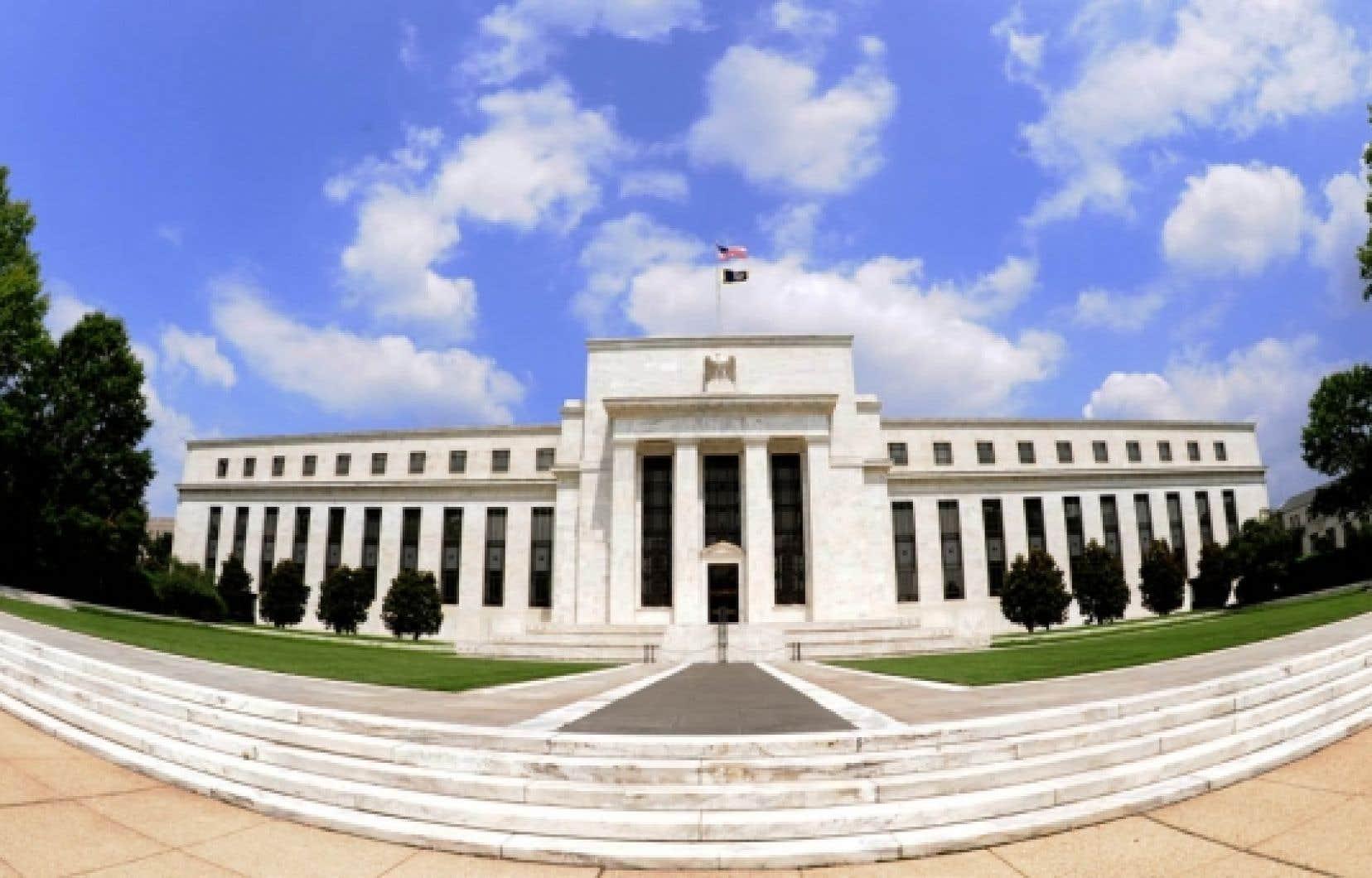 Le siège de la Réserve fédérale américaine