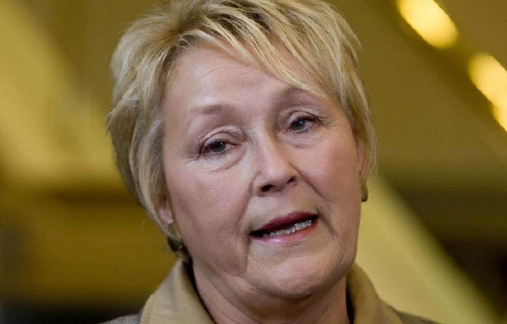 Pauline Marois n'a pas apprécié la sortie de Lucien Bouchard hier