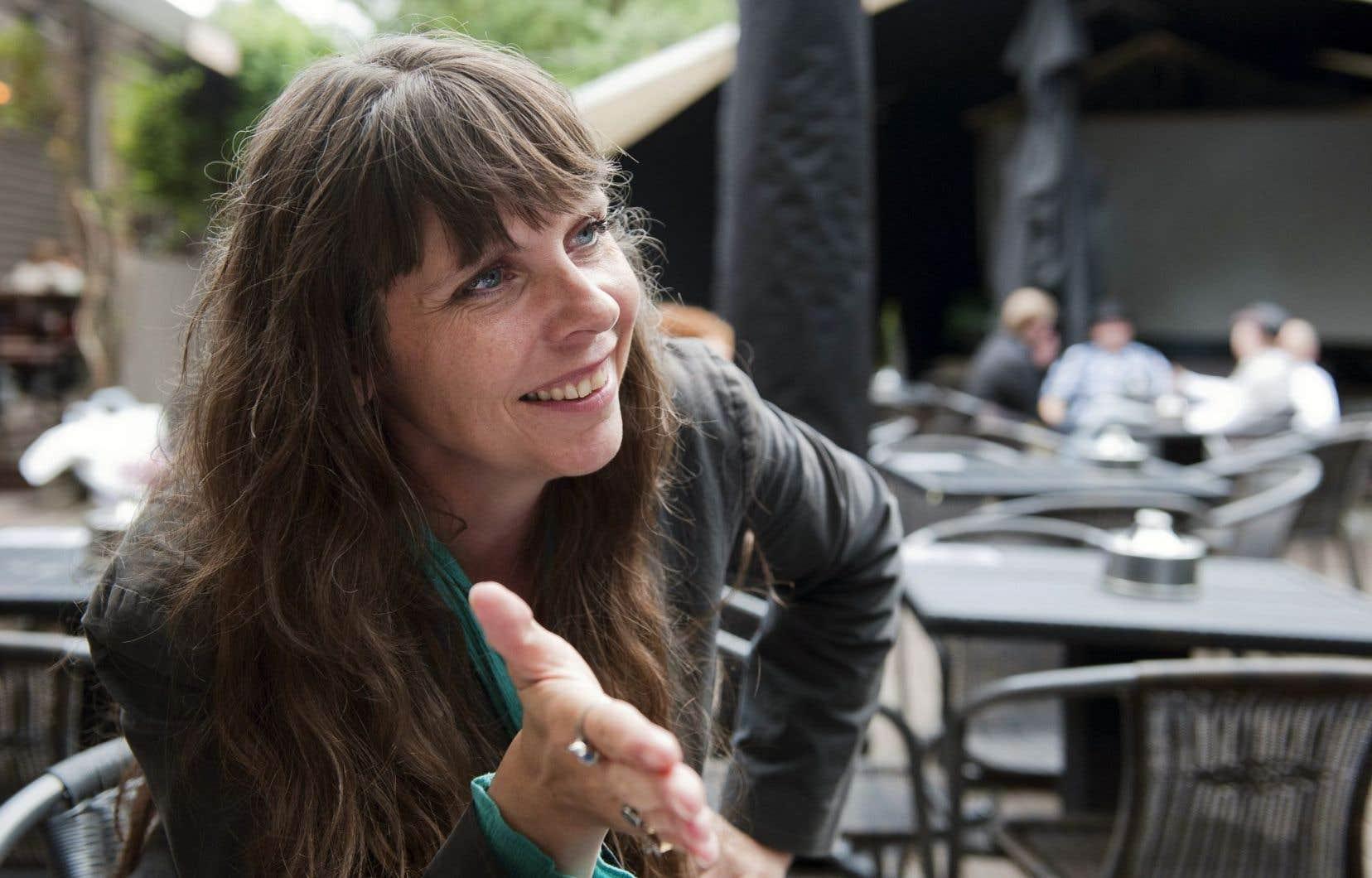 Birgitta Jonsdottir a fondé le Parti pirate en 2012. Elle dit ne pas avoir l'intention de renoncer à ses idéaux politiques même si la réalité du pouvoir se fait de plus en plus concrète.