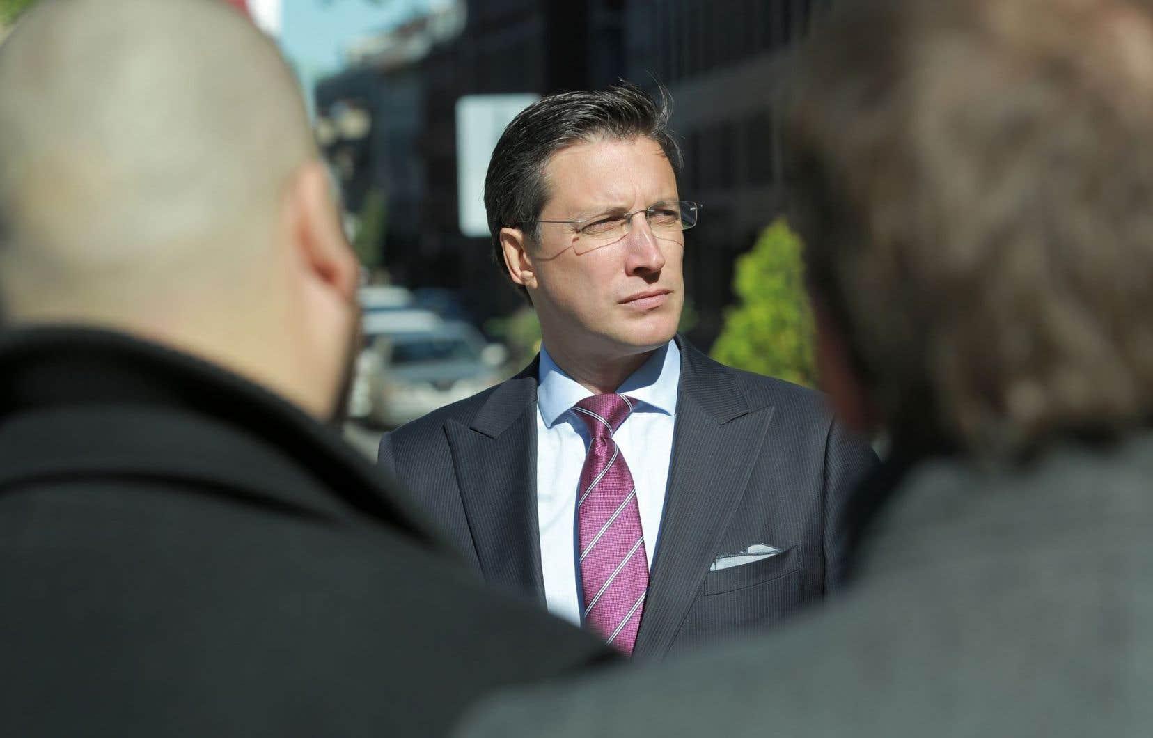 Guillaume Lavoie est candidat à la chefferie de Projet Montréal.