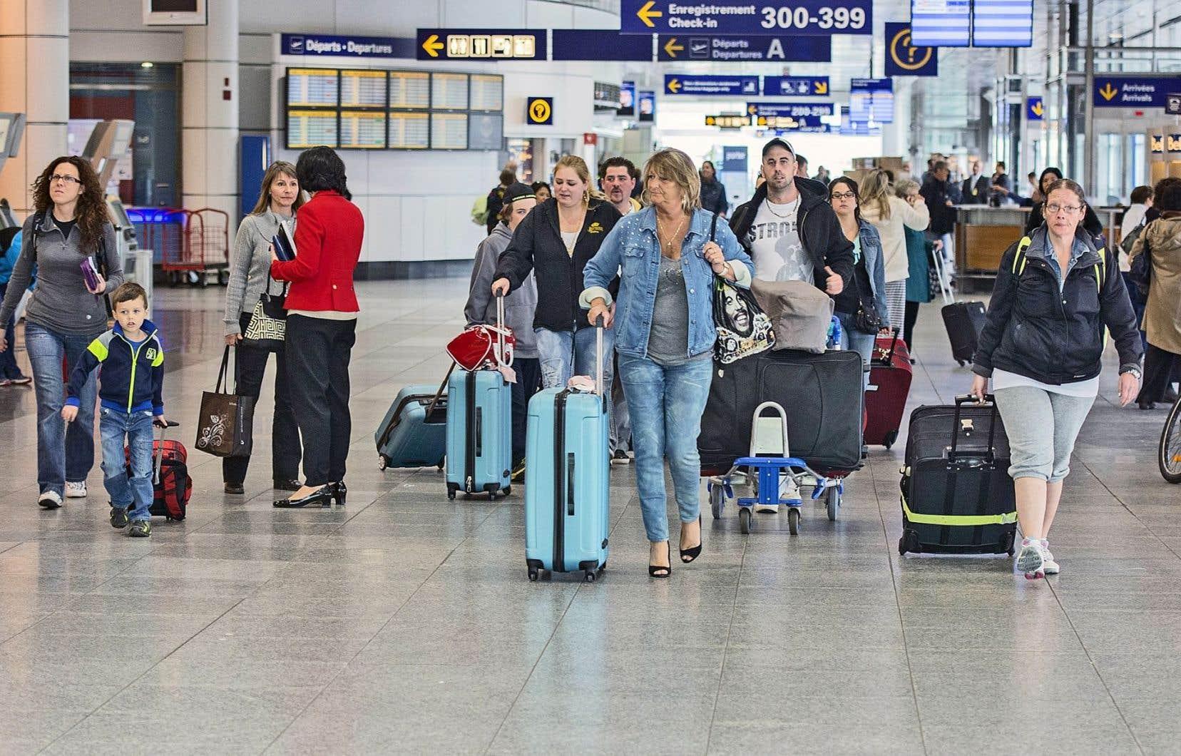 44% des voyageurs canadiens vers le Sud viennent du Québec, 36% de l'Ontario.