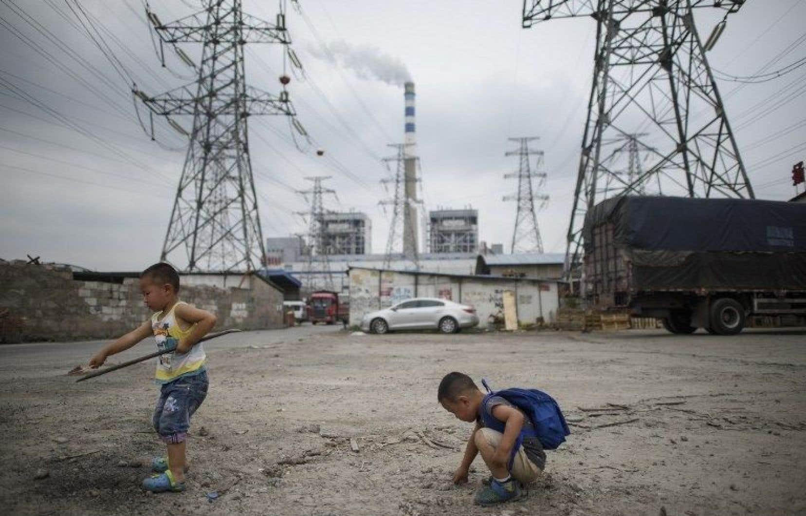 Les enfants en bas âge sont plus sensibles que les adultes à la pollution.