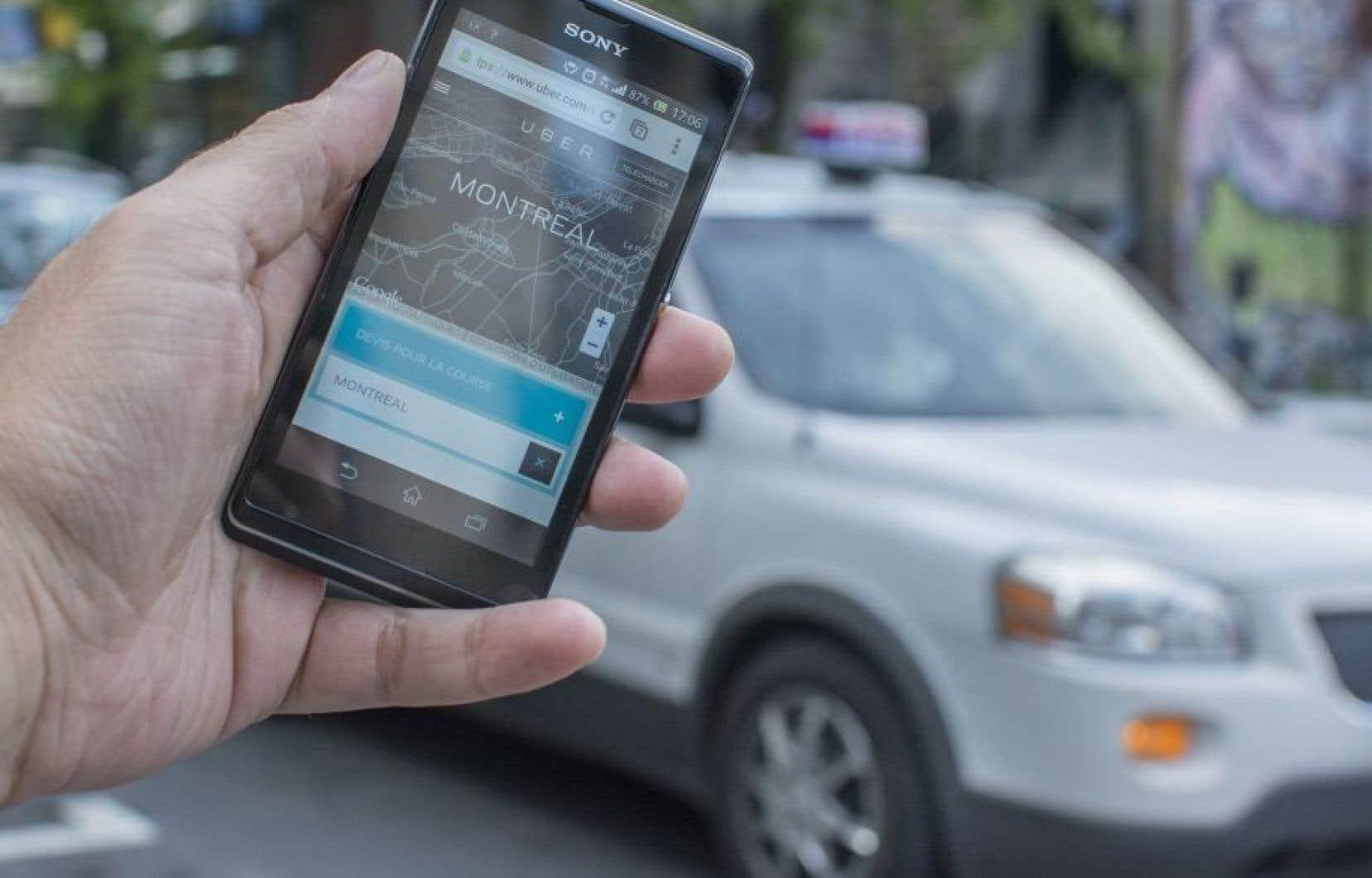 L'entente en matière de covoiturage urbain entre le gouvernement du Québec et Uber avait été conclue au début du mois de septembre.