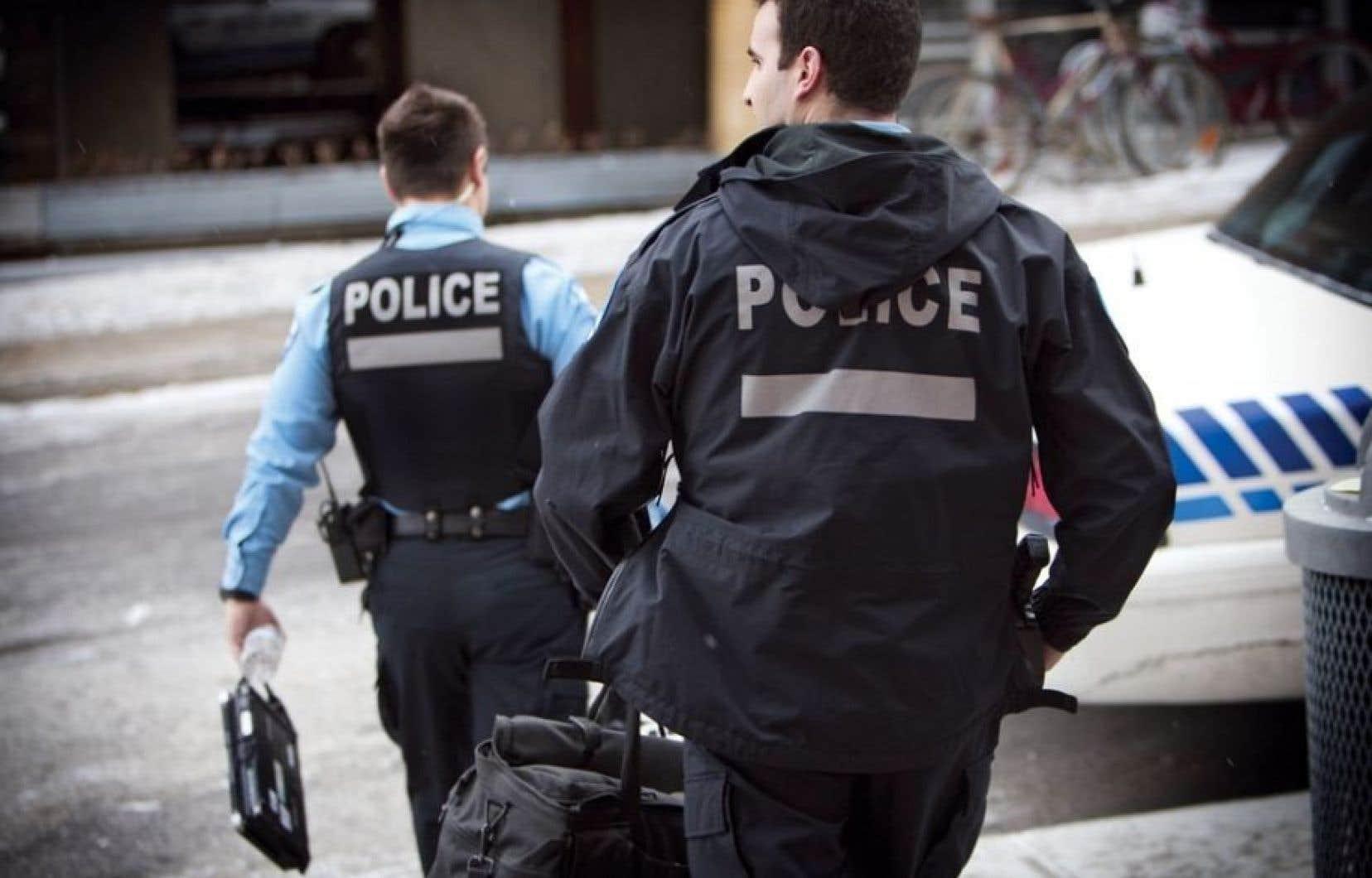Le SPVM n'était pas seul à épier les faits et gestes des journalistes du Québec.