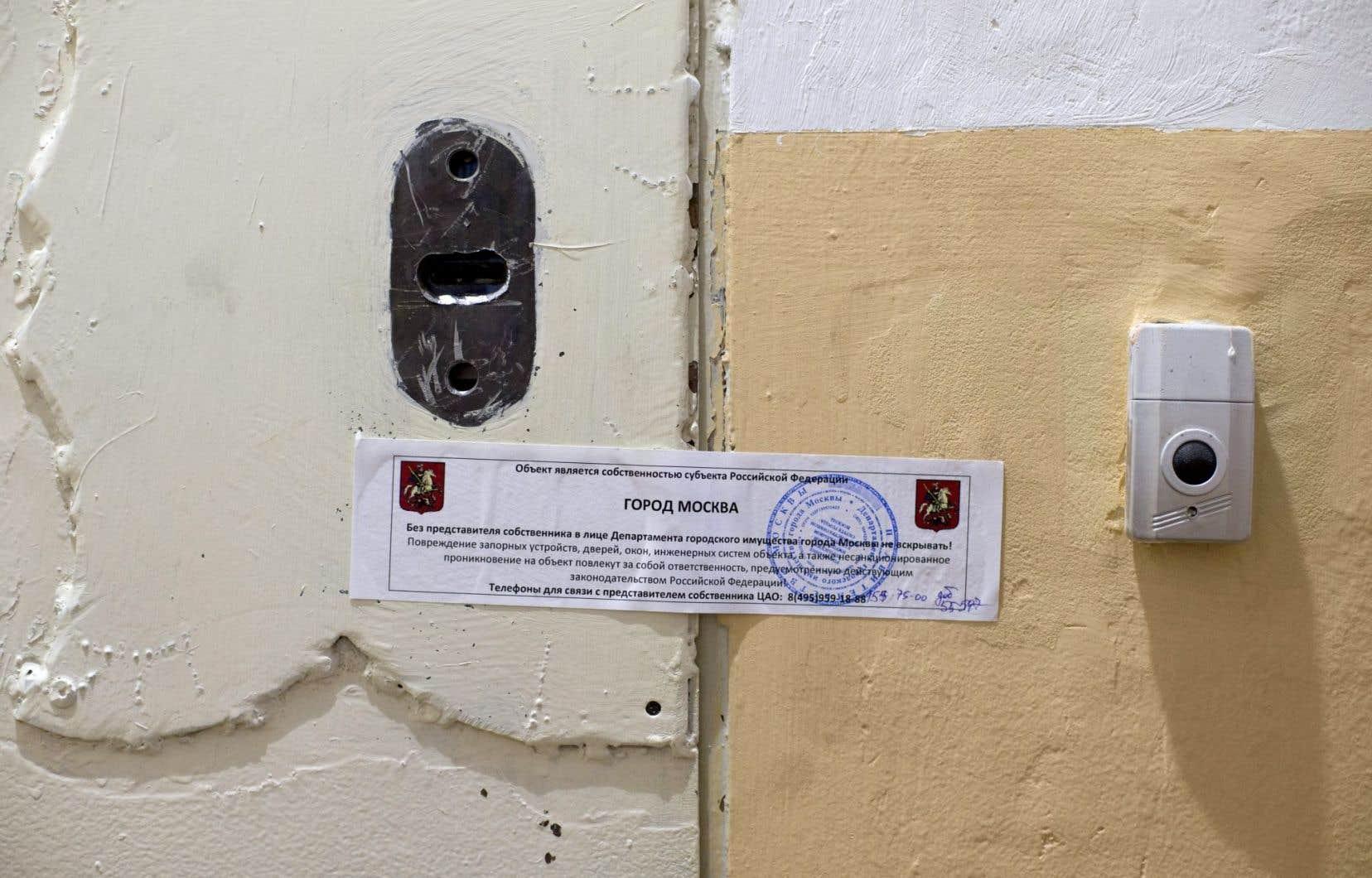 Les serrures du local d'Amnesty International, à Moscou, ont été changées dans la nuit de mardi.