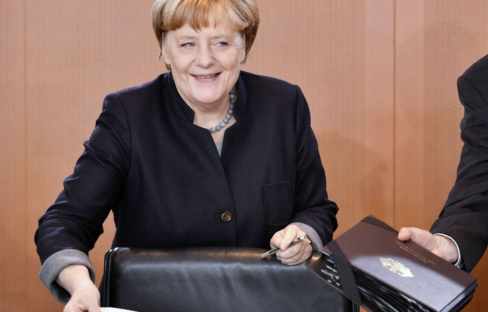 La première chancelière d'Allemagne, Angela Merkel