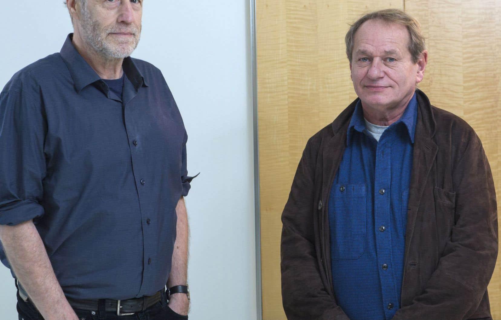 Le cinéaste Philippe Lioret (à droite) a choisi l'acteur Gabriel Arcand après avoir vu «Le démantèlement».