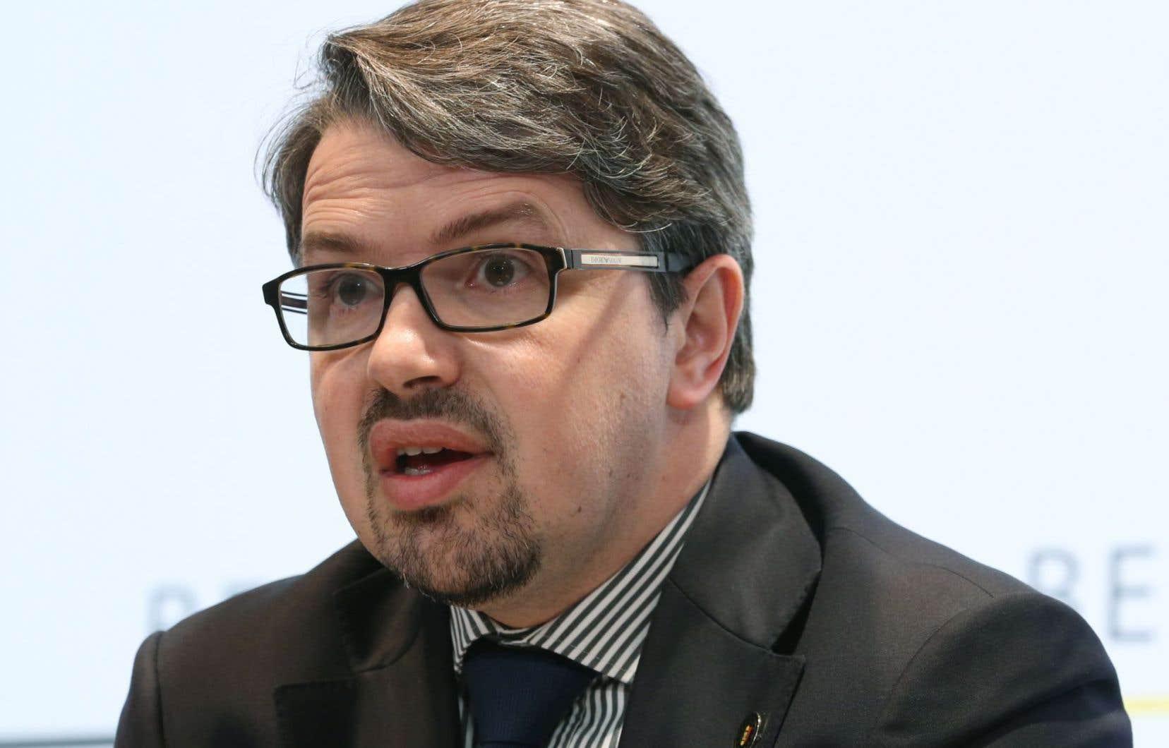 Le procureur fédéral belge Frédéric Van Leeuw