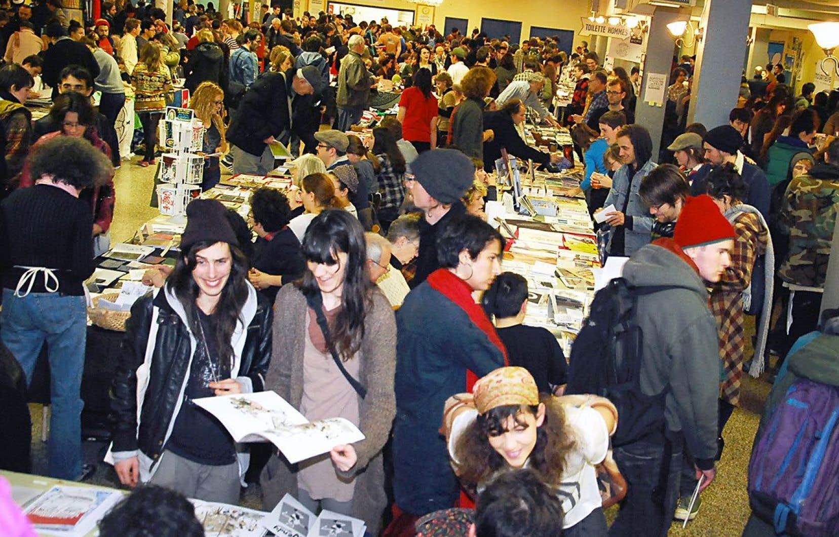 L'Expozine, microsalon annuel du fanzine, de la microédition et de la bande dessinée, en est cette année à sa 15eédition.