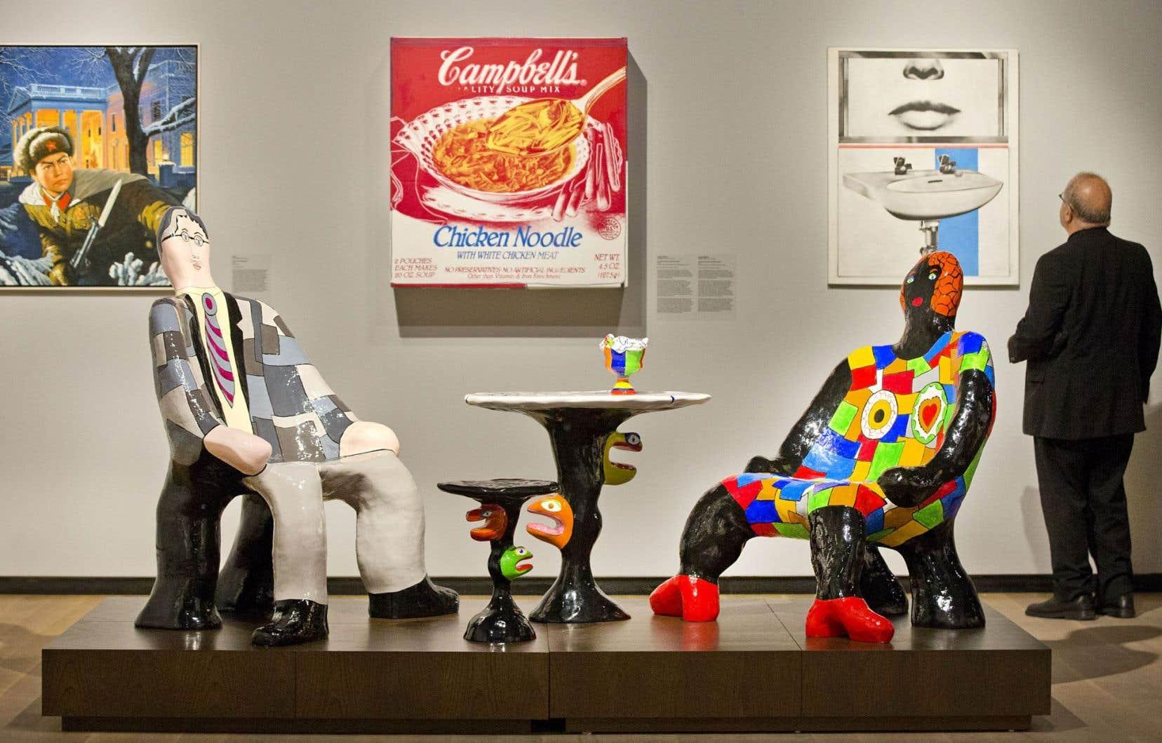 Le fauteuil Clarisse de Niki de Saint-Phalle