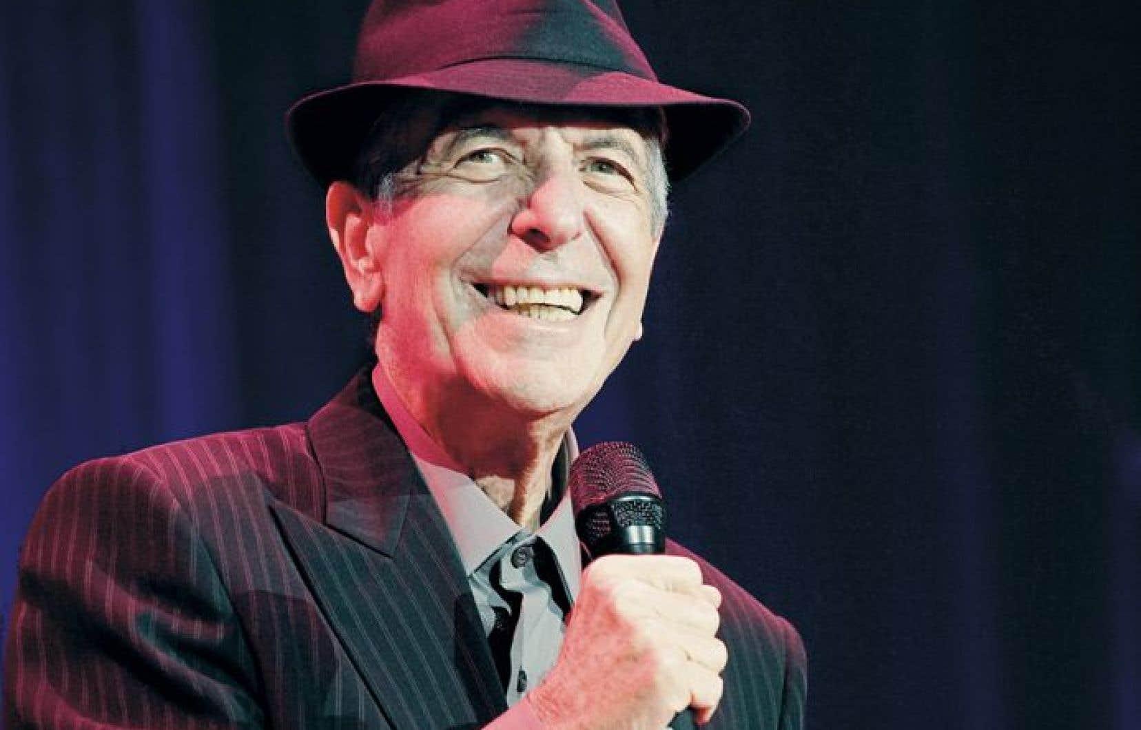 Leonard Cohen en 2011