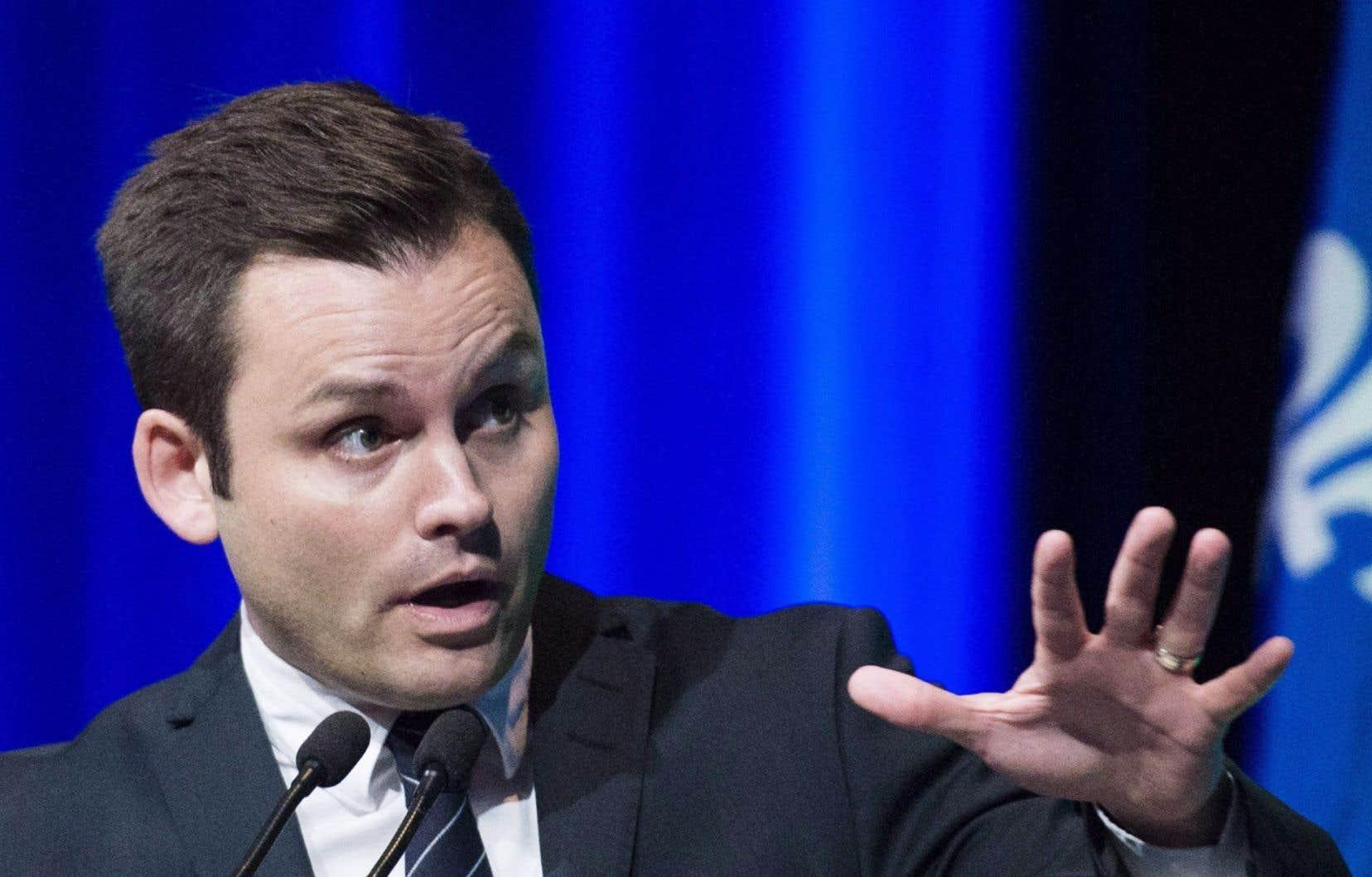 Le nouveau conseiller spécial du chef du Parti québécois, Paul St-Pierre Plamondon
