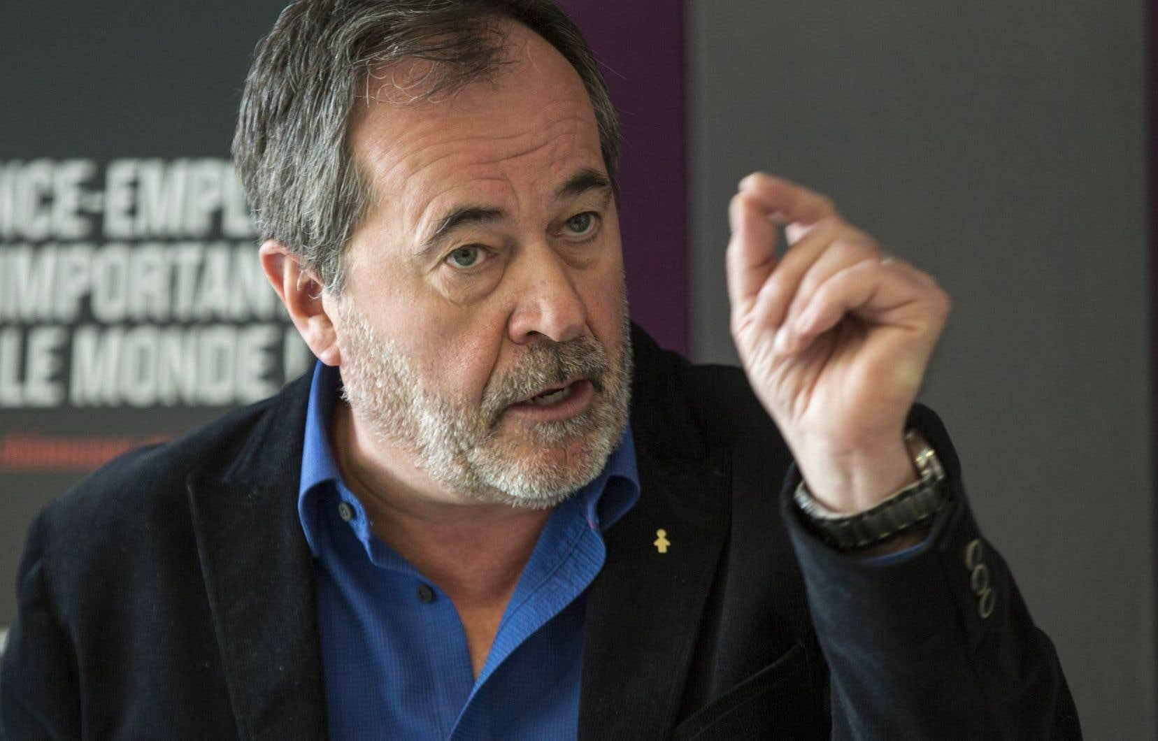 Le secrétaire général de la FTQ, Serge Cadieux