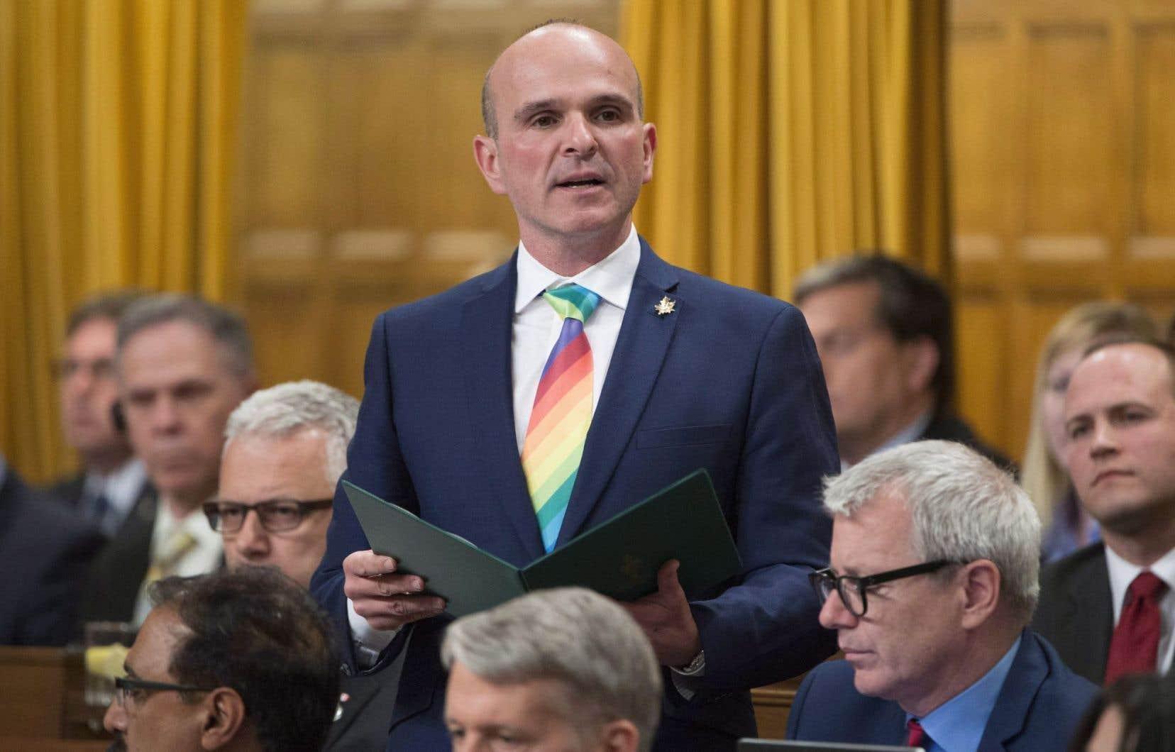 Le député libéral Randy Boissonnault